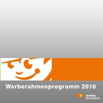 Werberahmenprogramm 2010 - ZDF Werbefernsehen