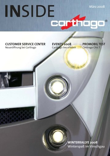 Finanzierung - Carthago Reisemobilbau GmbH