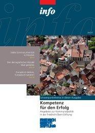 FES-Info 2007, Nr. 3 - Bibliothek der Friedrich-Ebert-Stiftung