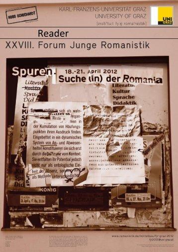 Reader - Romanistik.de