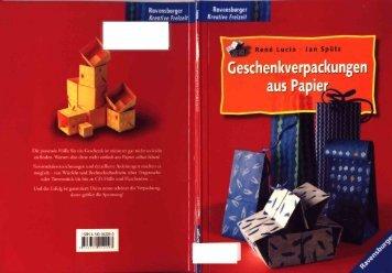 Rene Lucio und Jan Sputz - Geschenkverpackungen aus Papier