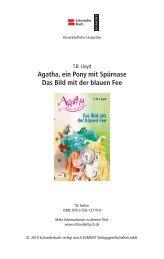 Agatha, ein Pony mit Spürnase Das Bild mit der blauen Fee