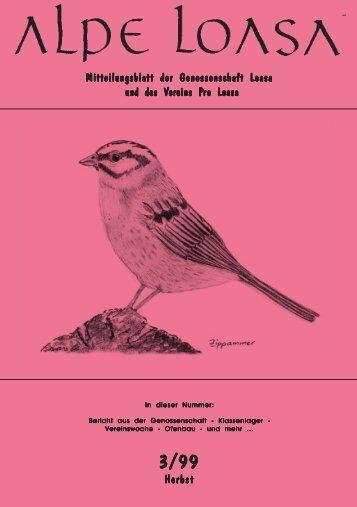 Mitteilungsblatt der Genossenschaft Loasa und des V und des ...
