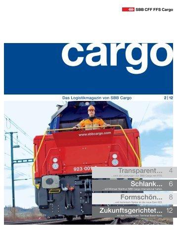 Cargo Magazin 2 / 12 - SBB Cargo