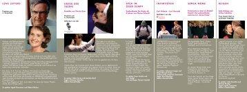 Programm Dezember 2008 - Januar 2009 - webChallenge.de