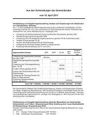 VB 20110419 (pdf, 265 KB) - Gemeinde Neftenbach