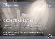 INTERVIEW mit - Mystikum