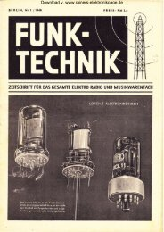 Heft 1 - Rainers - Elektronikpage