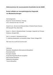 Leitfaden zur neuropathologischen Diagnostik von ...