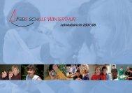 Jahresbericht Schuljahr 2007/2008 - Freie Schule Winterthur