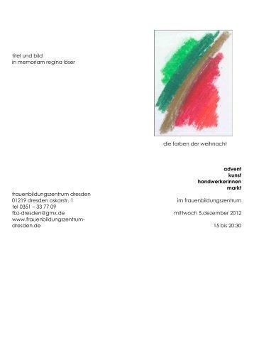 flyer 2012 mit Bild - Frauenförderwerk Dresden  eV