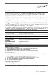 Monteur Innenausbau - Augenblick GmbH