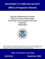Security Weaknesses Increase Risks to Critical United States ...