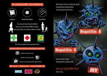 Bloodborne Viruses in Prison Leaflet