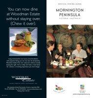6590 MP RestGuide-DL.indd - Visit Mornington Peninsula