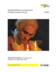 Komponisten auf der Spur: Wolfgang Amadeus Mozart ...