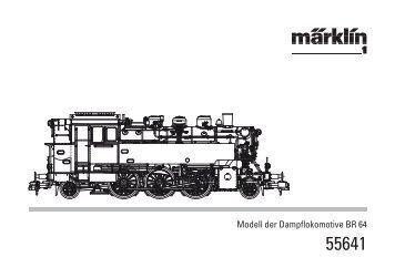 Modell der Dampflokomotive BR 64 - Spur-1-Freunde-Berlin