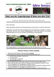 Ideen aus der Jugendgruppe & News aus dem Club - Berner Modell ...
