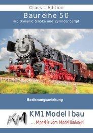 Baureihe 50 - KM1 Modellbau