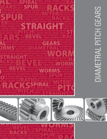 12 DP Spur Gears - Econobelt