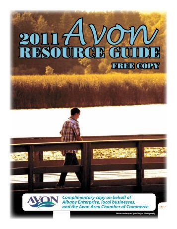 Avon Resource Guide 2011 - Sauk Centre Herald