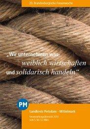 mit Ranz und May - Frauenpolitischer Rat Land Brandenburg  eV