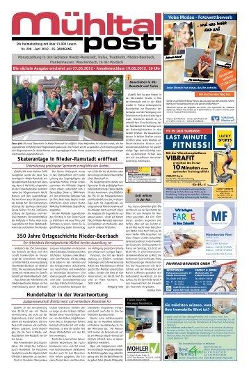 Juni 2012 - Mühltalpost