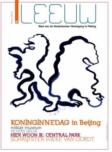 KONINGINNEDAG in Beijing - De Rode Leeuw