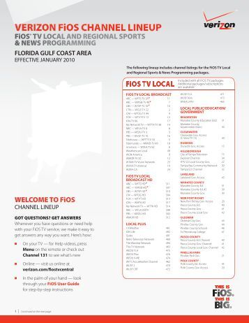 Verizon Fios Tv Guide Virginia Beach