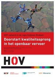 HOV Netwerk Zuidoost Brabant - Reizigersoverleg SRE