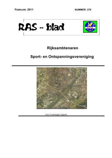 Rijksambtenaren Sport- en Ontspanningsvereniging - RAS Venlo