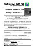 Rijksambtenaren Sport- en Ontspanningsvereniging - RAS Venlo - Page 5
