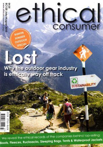 Ethical shopping guide to outdoor gear - Paramo