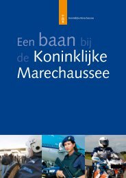Download de algemene brochure - Werken bij de Marechaussee