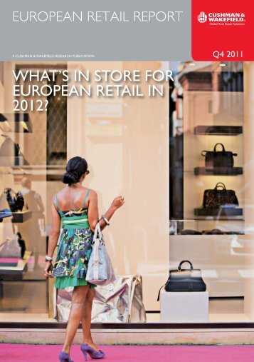 what's in store for european retail in 2012? - IBP Real Estate
