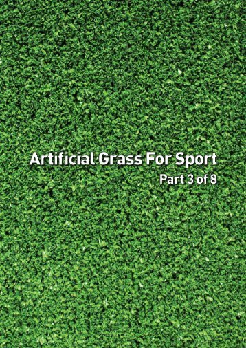 Artificial Grass For Sport - Department of Planning and Community ...