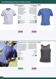 Sportbekleidung & Trikots (Funktions-Shirts)