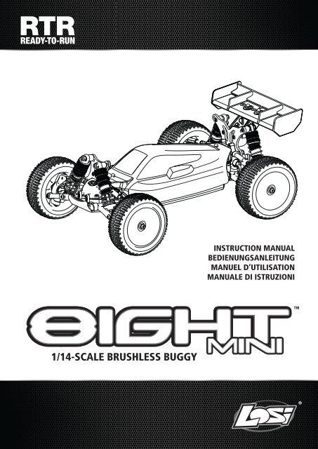 Mini 8IGHT Horizon Hobby LOSB1922 Losi Spur Gear Set