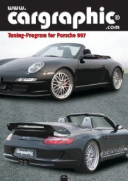Tuning-Program for Porsche 997