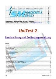 SM Anleitung UniTest 2 v1.23.pdf - SM-Modellbau