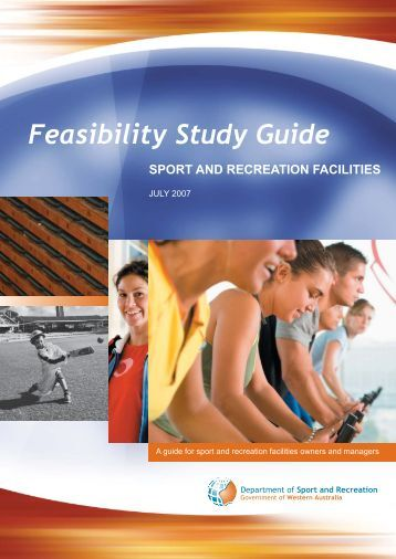 Feasibility Study Guide - Department of Sport and Recreation