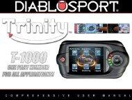 Trinity Manual - DiabloSport