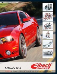 Length x 2.00 in Eibach 0500.200.1900 ERS 5.00 in ID Coil-Over Spring