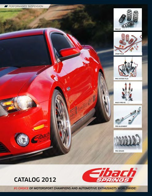 Eibach PRO-KIT Performance Springs Set of 4 Springs 4040.140
