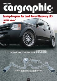 Tuning-Program for Land Rover Discovery LR3 - Tuning.sk