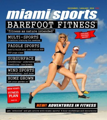BAREFOOT FITNESS - Miami Sports Magazine