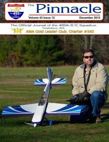 Dec. '12 Newsletter - 495th R/C Squadron