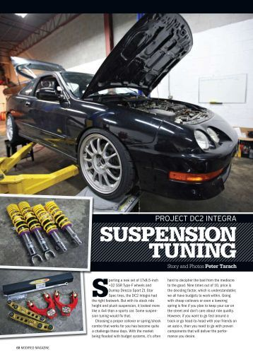 SuSpenSion Tuning - KW Suspension