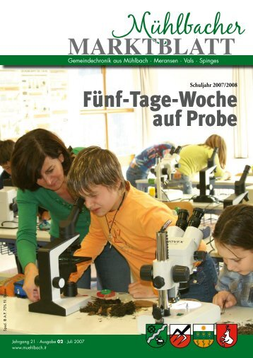 Mühlbacher Marktblatt 02/2007