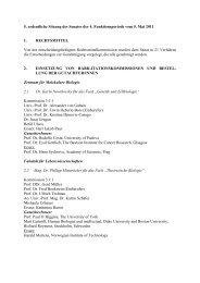 5. ordentliche Sitzung des Senates der 4. Funktionsperiode vom 5 ...